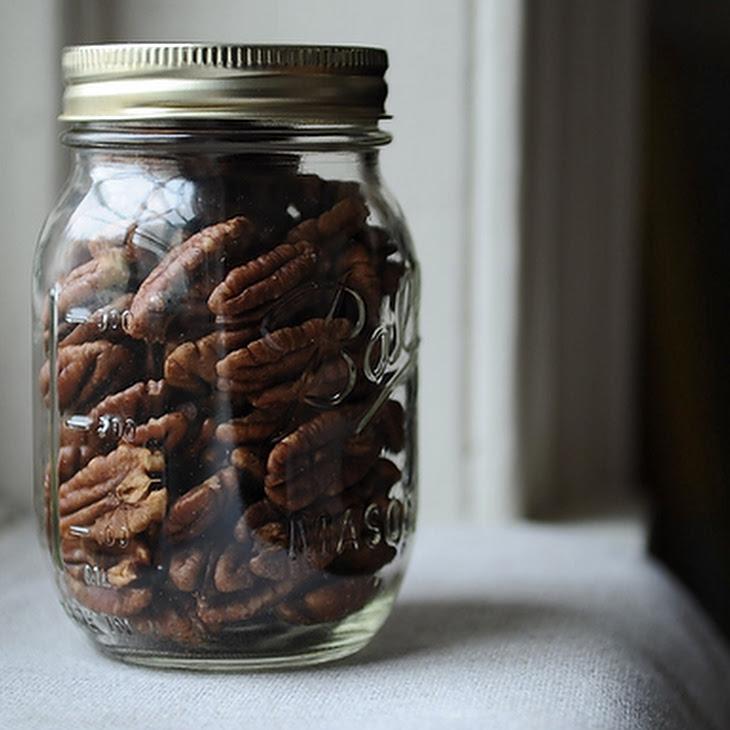 Crispy Spice-Brined Pecans Recipe