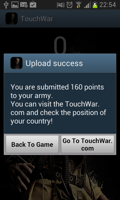 Touch War- screenshot