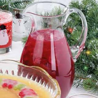 Cranberry Fruit Punch.