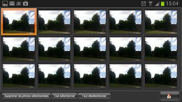 Screenshot of Photo Séquence