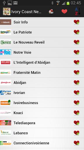 【免費新聞App】Ivory Coast Newspapers-APP點子