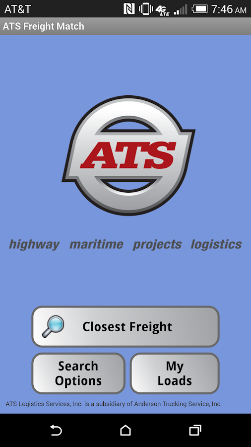 ATS Freight Match- screenshot