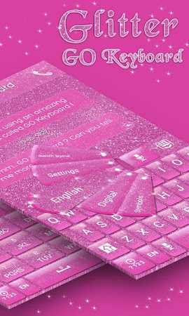 Glitter GO Keyboard Theme 3.87 screenshot 640271