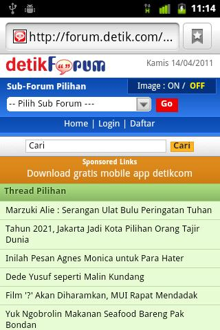 detikForum Launcher- screenshot