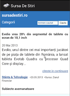 Sursa De Stiri - screenshot thumbnail