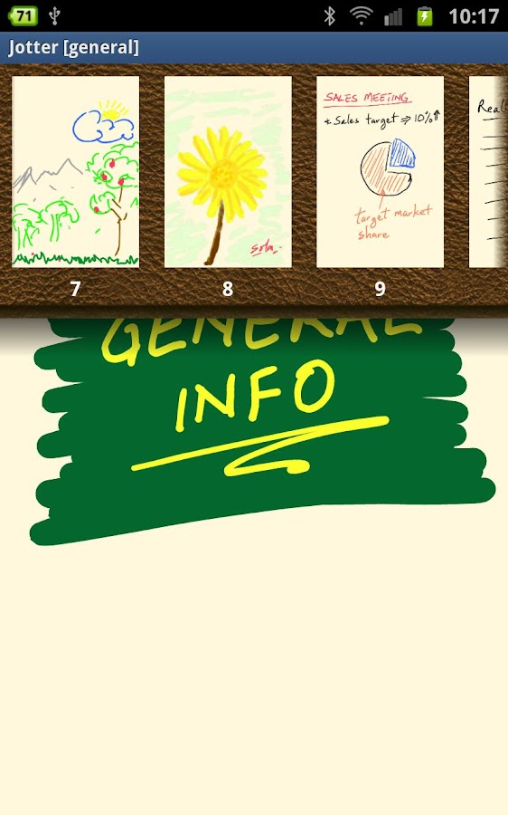 Jotter (For Galaxy Note)- screenshot