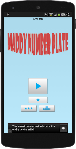 Maddy Number Plate
