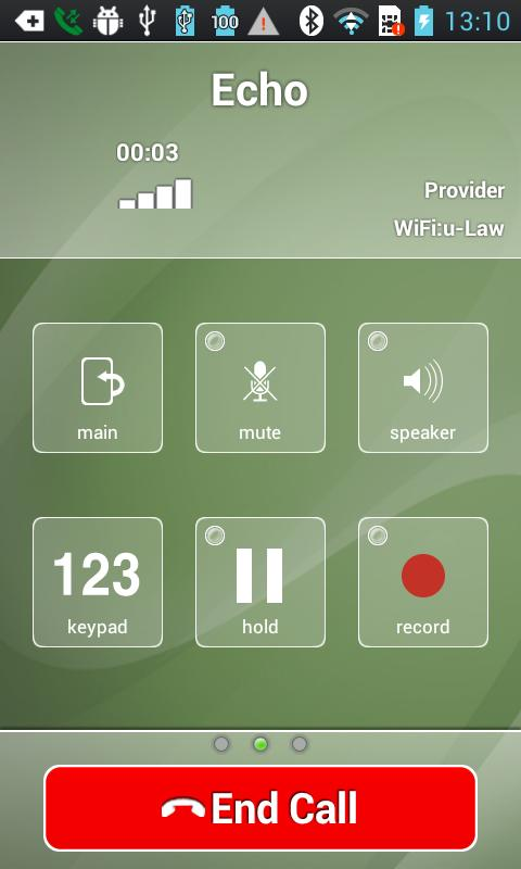 Acrobits Softphone - screenshot