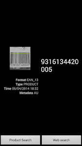 Quick Barcode Scanner screenshot 1