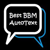 Best BBM Autotext 2015