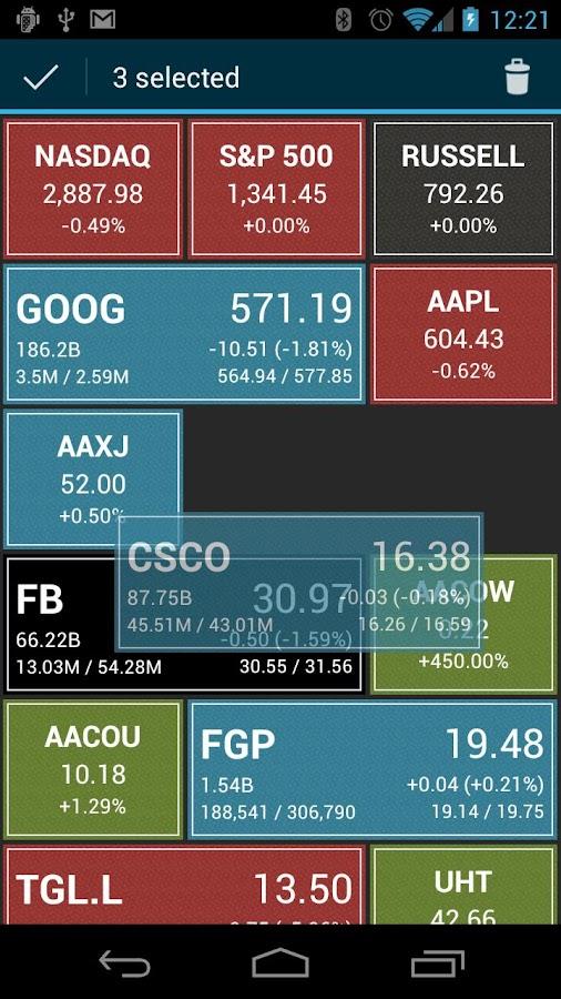 Stocktile Lite- screenshot