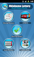 Screenshot of OK Lottery