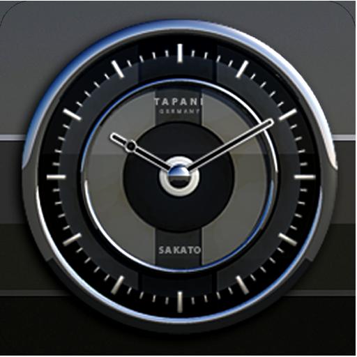 Sakato Designer Clock Widget