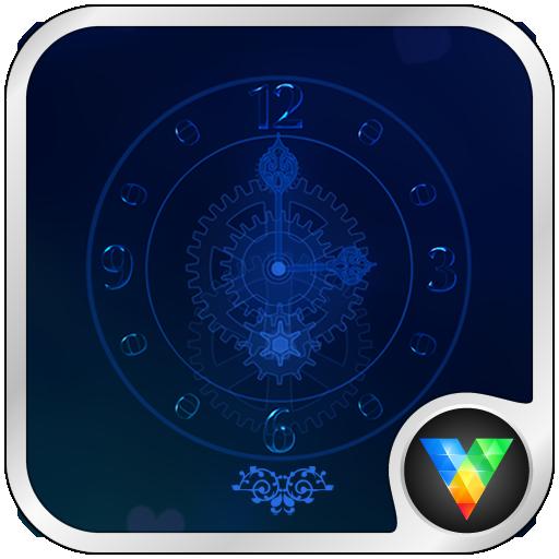 水晶时钟动态锁屏壁纸 個人化 App LOGO-APP試玩
