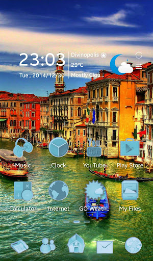 Venice GO Launcher EX Theme