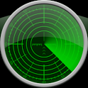 Radar Clock LWP Green icon