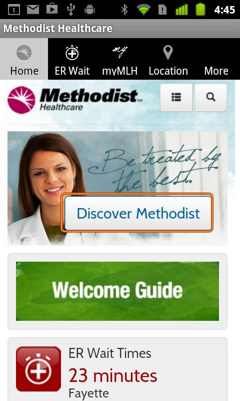 Methodist Healthcare - screenshot