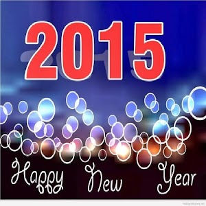 card happy new year 2015 for PC and MAC