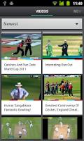Screenshot of Cricket Videos