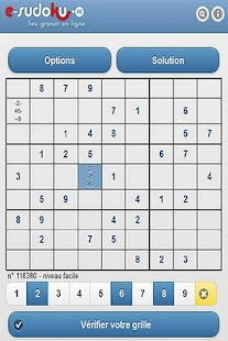 e-sudoku.fr - screenshot thumbnail