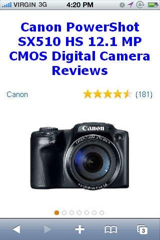 PowerShot SX5 Camera Reviews