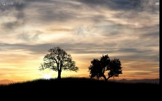 Screenshot of Sun Rise Free Live Wallpaper