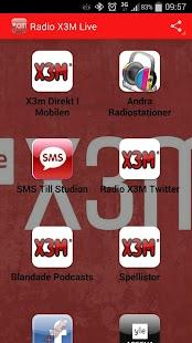Radio X3m Live