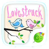 Lovestruck GO Keyboard Theme