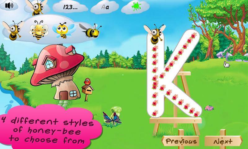 I Can Write ABC kids alphabets- screenshot