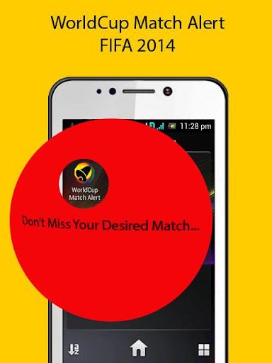 World Cup Match Alert