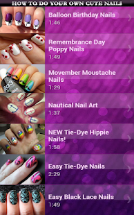 How to Do Your Own Cute Nails - screenshot thumbnail