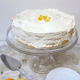 Meyer Lemon Icebox Cake