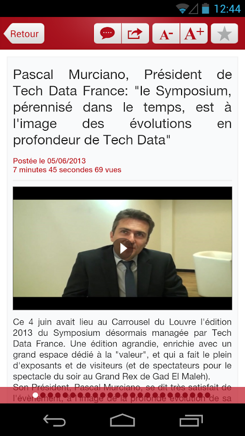 Actualité Channel - ChannelBiz- screenshot