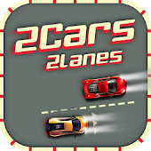 2 Cars 2 Lanes - Don't Crash!