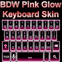 Pink Glow Keyboard Skin icon