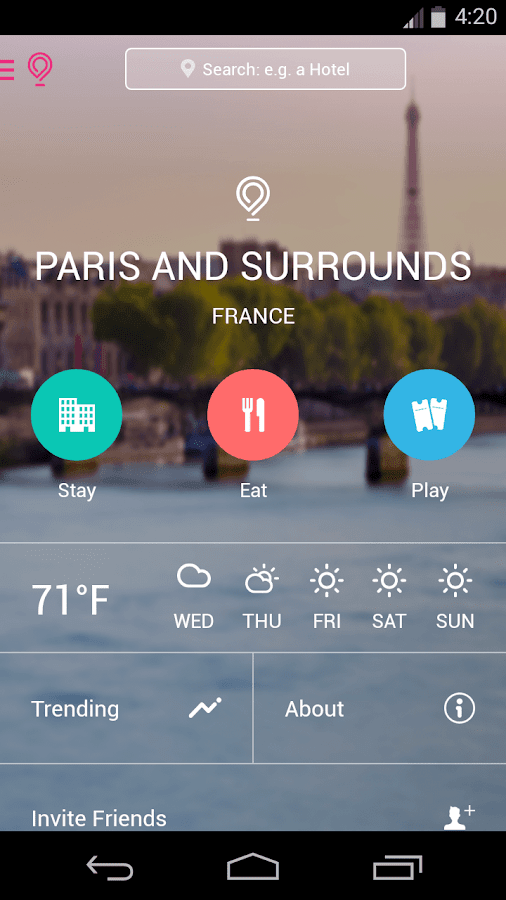 Paris City Guide - Gogobot- screenshot