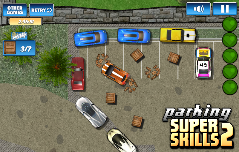 Parking Super Skills 2- screenshot