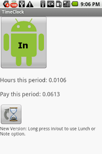 TimeClock Punch In screenshot 1