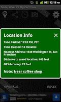 Screenshot of Dude, Where's My Car? Free