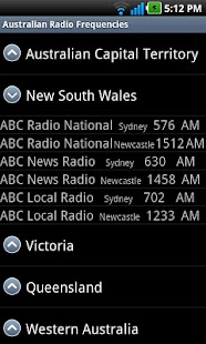 Australian Radio Frequencies - screenshot thumbnail