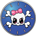 Girly Skull Clocks logo