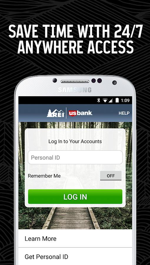 REI Credit Card - screenshot