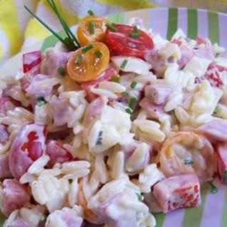 Orzo Ham Salad