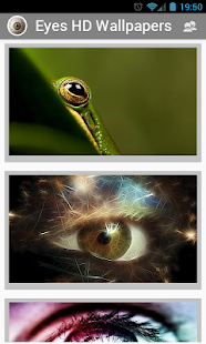 Eyes HD wallpapers - screenshot thumbnail