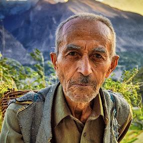 The Soldier by Fateen Younis - People Portraits of Men ( soldier hunza duikar fateen pakistan kkh gb,  )