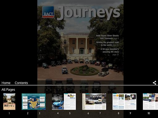 RACT Journeys magazine