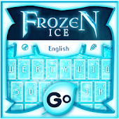 GO Keyboard Frozen Ice Theme