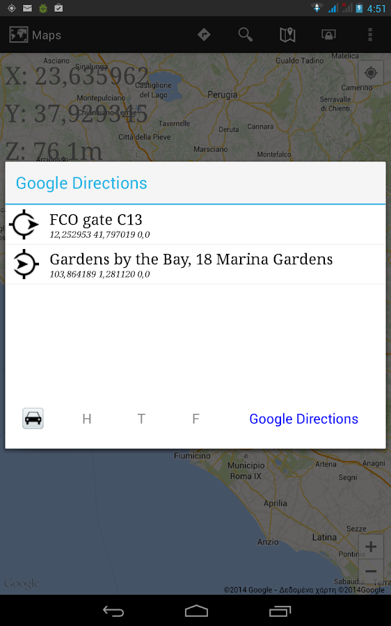 Turbo GPS 3 - screenshot