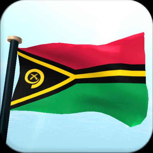 瓦努阿图旗3D动态壁纸 個人化 App LOGO-硬是要APP