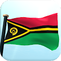 Vanuatu Flag 3D Live Wallpaper icon